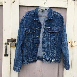 Georges Marciano x Guess Acid-Wash Denim Jacket